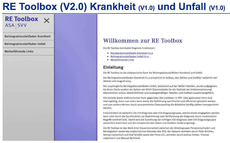 RE Toolbox UVG KTG - Peter Birchler